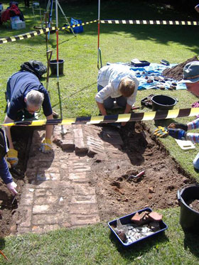 Marlow Archaeology excavation